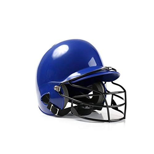 - Batting Helmet with Baseball Softball Mask, Dual Density Shock Absorption Foam, High Impact Resistant Abs Shell, Moisture Wicking Liner, Unisex
