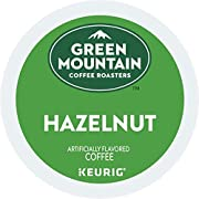 Green Mountain Coffee Roasters Hazelnut, Single Serve Coffee K-Cup Pod, Flavored Coffee, 6 Pack (72 count total)