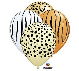 Qualatex Safari Assortment Biodegradable Latex Balloons, 11-Inch (12-Units) for $<!--$3.99-->