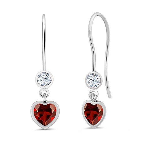132-ct-heart-shape-red-garnet-925-sterling-silver-earrings