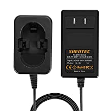 Shentec 1.2V-18V Battery Charger for Bosch Ni-MH / Ni-Cd Pod Style Batteries, Exact Fit 7.2V 9.6V 12V 14.4V 18V Battery