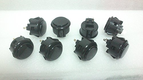 8pc-set-of-sanwa-obsfs-30-silent-push-buttons-black
