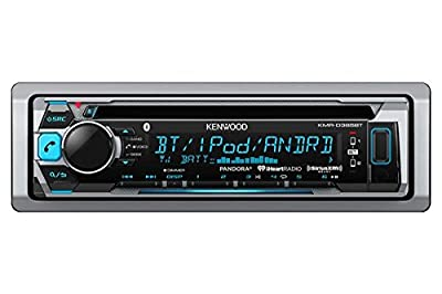 Kenwood Marine CD Single DIN in-Dash Bluetooth Car Stereo Receiver