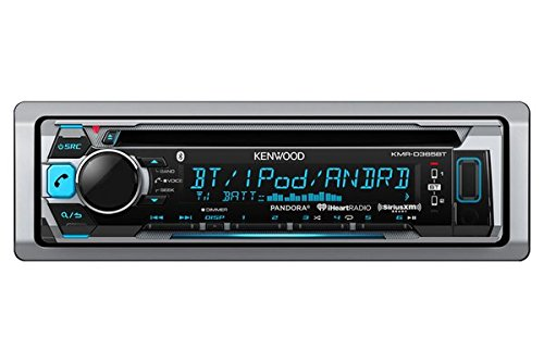 kenwood KMRD365BT Marine CD Single DIN in-Dash Bluetooth Car Stereo ()