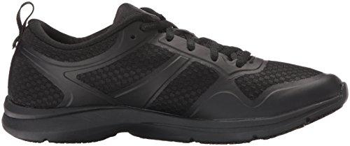 Ryka Womens Seabreeze Slip Resistant Walking Shoe Black/Grey