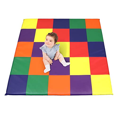 Dream Tree Puzzle Play Mat with Washable, Safe Non-Toxic CPSIA Compliant Soft Foam Activity Playmat for Baby, Infants, and ()