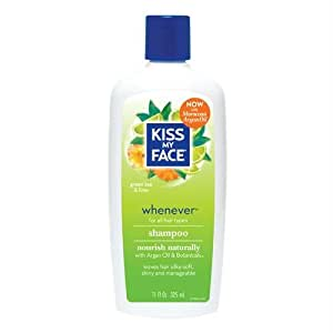KISS MY FACE Organic Hair Care Paraben Free Whenever Shampoo 11 OZ