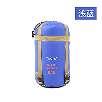 Mayihang Saco De Dormir Piscina Camping Bolsa De Dormir Adulto Mini Nylon Imitación De Seda Azul Claro,Sobres,190*75: Amazon.es: Deportes y aire libre