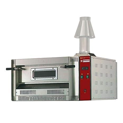 Horno para pizzas de gas - 6 para pizzas (33 cm de diámetro ...