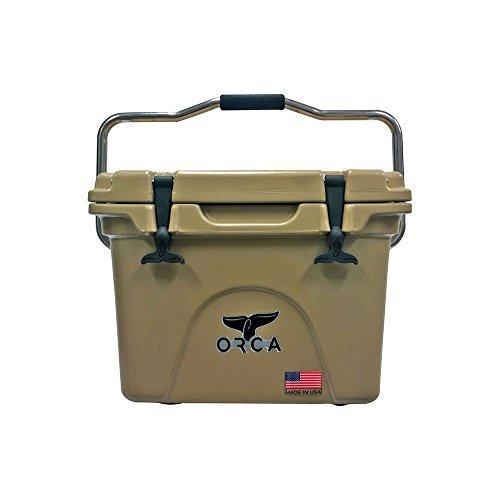 ORCA Extra Heavy Duty Cooler, Tan, 20-Quart by Orca