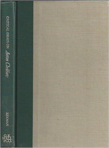Critical essays on chekhov top creative essay writer websites gb