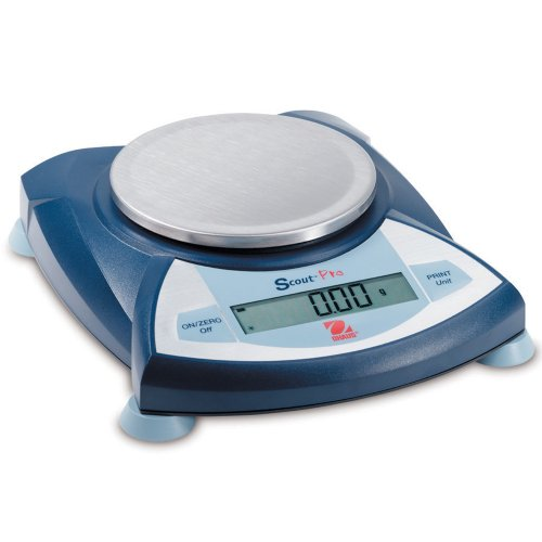 Ohaus Scout Pro Portable Electronic Balance, 200g Capacity, 0.01g Readability ()