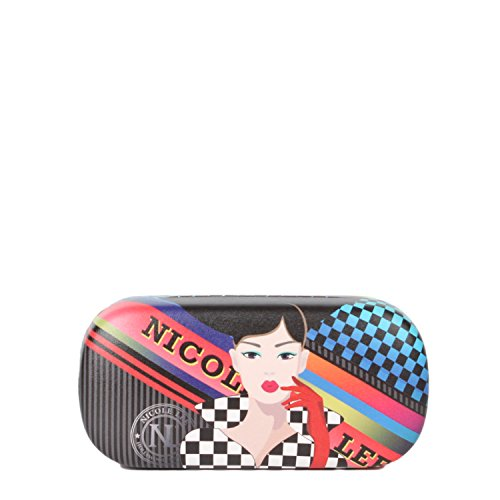Printed Hard case [Red] Clamshell Sunglasses Case with Removable Wrislet - Rac Sunglasses