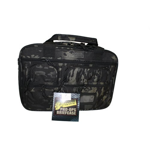 VooDoo Tactical 20-0099072000 Pro-Ops Briefcase, Black Multicam by VooDoo Tactical