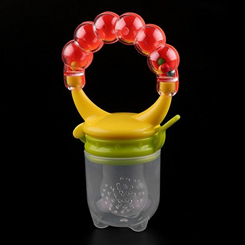 Baby Feeder Pacifier Silicone Sac Teether Nibbler Soother