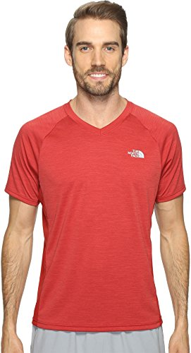 The North Face Men's Ambition V-Neck Cardinal Red Heather/Cardinal Red (Prior Season) ()