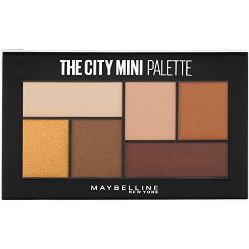 (Maybelline New York The City Mini Eyeshadow Palette Makeup, Hi-Rise Sunset, 0.14)