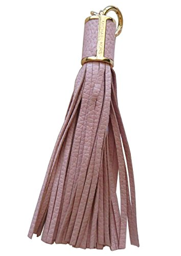 Michael Kors Large Tassel Bag Charm Pink Leather Key Fob - Kors Shop