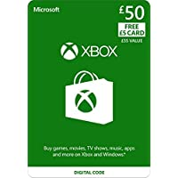Xbox Live £50 Credit + £5 FREE [Xbox Live Online Code]