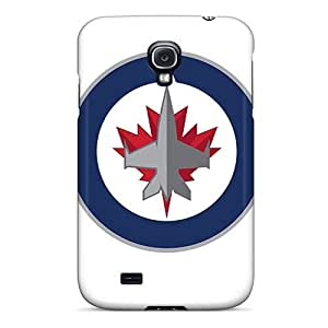 Hot Covers Cases For Galaxy/ S4 Cases Covers Skin - Winnipeg Jets