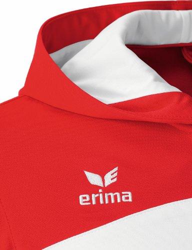 D'entraînement rouge À Erima Club Blanc Capuche 1900 Homme Veste Rouge PwPtxRqzI