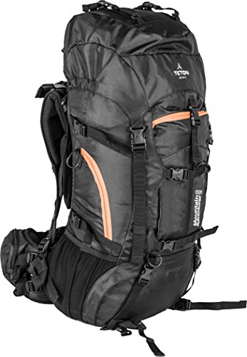 TETON Sports Mountain Adventurer 4000 Backpack; Ultralight Backpacking Gear; Hiking Backpack for Camping, Hunting, Mountaineering, and Outdoor Sports; Free Rain Cover Included