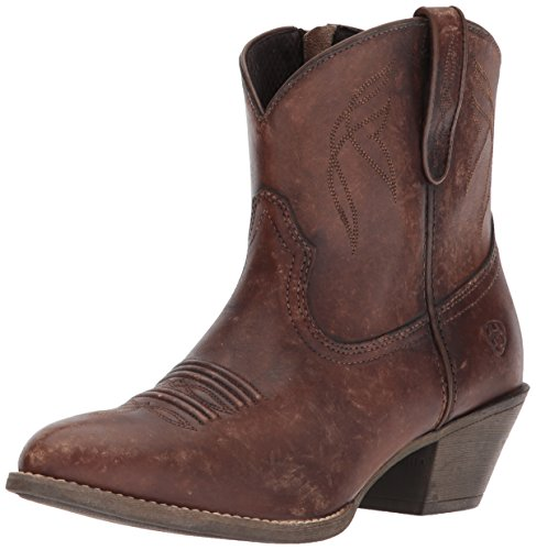 Ariat Women's Darlin Western Boot, Naturally Distressed Brown, 8.5 B US