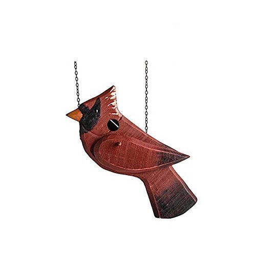 K&K Interiors Red Cardinal Birdhouse Replacement (One Sided)