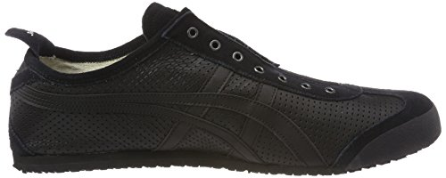Asics Onitsuka Tiger Mexico 66 Slip-on, Sneakers Basses Mixte Adulte Noir (Black/Black 9090)