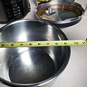 Amazon.com: Recambio de olla de acero inoxidable o ...