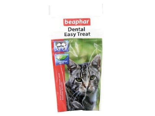 (4 Pack) Beaphar - Dental Easy Cat Treat 35g