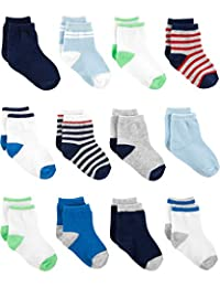 Simple Joys por Carter 's Boys' paquete de 12 calcetines