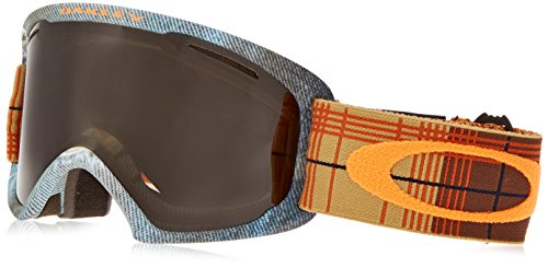 Oakley OO7045-14 O2 XL Eyewear, Copper Rhone, Dark Grey Lens by Oakley