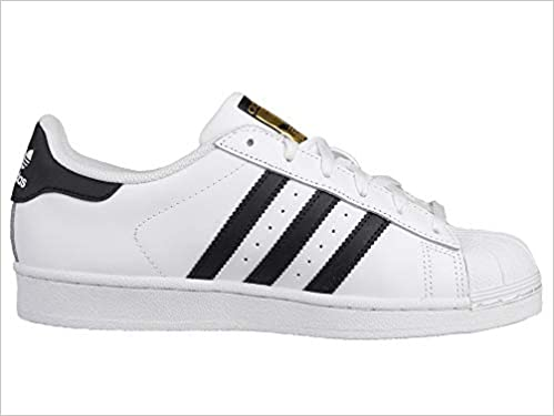 check out ff1e0 772d4 ADIDAS SUPERSTAR CLASSIC SNEAKERS BIANCO-NERO S81858 - 46, BIANCO   Amazon.it  Libri