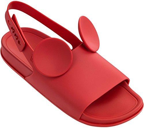 ILHABELA HOLDINGS INC. Melissa Womens Beach Slide Sandal + Disney Beach Slide Sandal, Red, Size 10 by ILHABELA HOLDINGS INC.