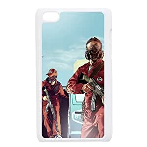 GTA 5 Trevor and Michael Robbers iPod Touch 4 Case White&Phone Accessory STC_107625
