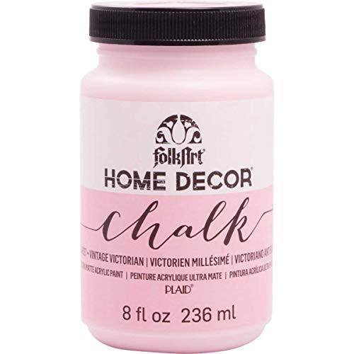 (FolkArt Home Decor Chalk Paint 8oz, Vintage Victorian)