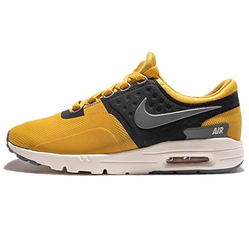 NIKE Women's Wmns Air Max Zero, Gold Dart/Cool Grey-Ivory, 6.5 US (Nike Max Gold Air Womens)