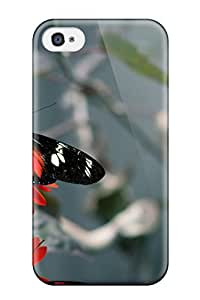 Nora K. Stoddard's Shop Cheap Fashion Protective Butterfly Case Cover For Iphone 4/4s 2421494K27014955