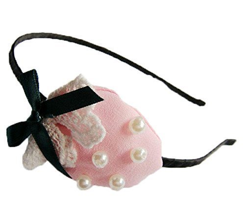 acquisto economico taglia 7 marchio popolare Style Nuvo Cerchietto con fragola e perle per bambine O ...