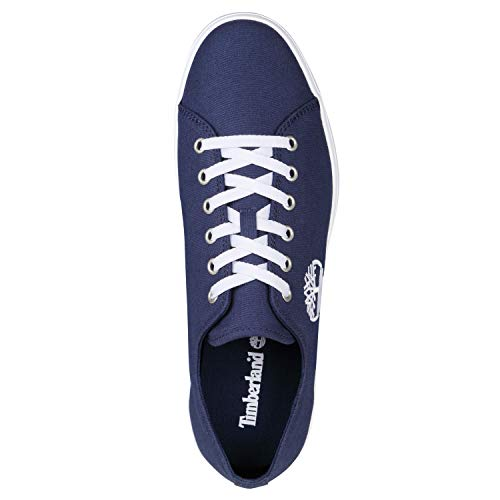 Iris Canvas Newport 019 Timberland Canvas Blu Stringate Uomo Black bay Scarpe Oxford fwzqEHz