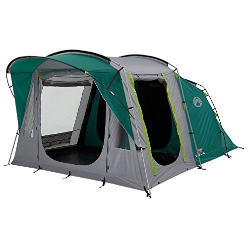 Coleman Tent Oak Canyon 4, 4 man tent with BlackOut Bedroom Technology,...
