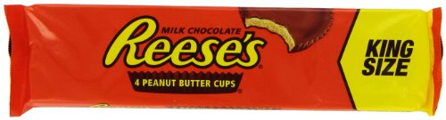 Amazon.com : REESE'S Peanut Butter Cups (King Size, 2.8-Ounce ...