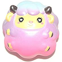 Squishy Squeeze Toy,Lisin 10CM Galaxy Sheep Cream Scented Squishy Slow Rising Squeeze Toy Charm Cure Gift Collect Stress Reliever Toy (Galaxy Sheep)