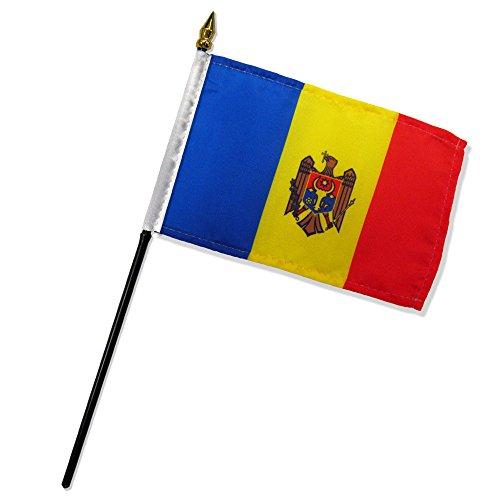 Quality Standard Flags Dozen Moldova