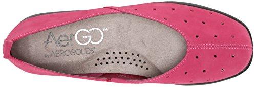 Dark Stone Women's Pink Aerosoles Nubuck Flat Skipping OqIxWwAz
