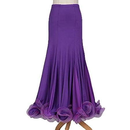 DESY Baile de Salón Pantalones y Faldas Mujer Rendimiento Licra ...