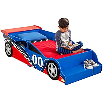 KidKraft Race Car Toddler Bed