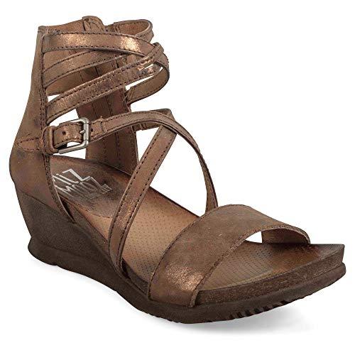 (Miz Mooz Shay Women's Wedge Sandal Bronze)