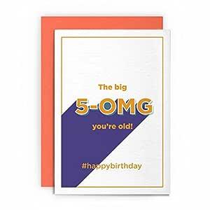 Tarjeta de 50 cumpleaños divertida de Rude Humorous - The ...